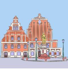 Riga a vector