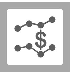 Sales Trends Icon vector image