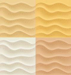 sand patterns vector image