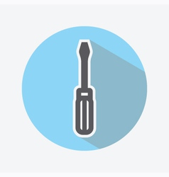 Screwdriver Color Icon vector image