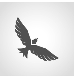 Flying Eagle Icon vector image