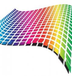 retro wave pattern vector image vector image