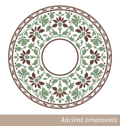 Vintage Old Ornament vector image vector image