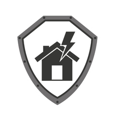 home insurance property concept icon vector image