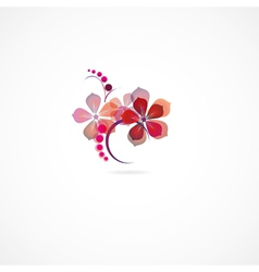 Beautiful floral vector image