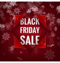 Black Friday sale background EPS 10 vector image vector image