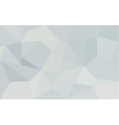 Abstract white geometric paper background vector image