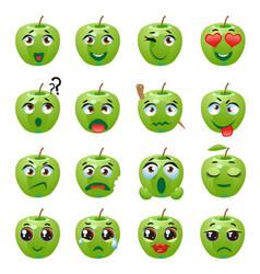 Apple emoji emoticon expression vector