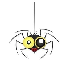 black spider weighs vector image