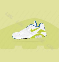 Nike air 180 og green air max vector