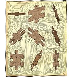 puzzle - vector image