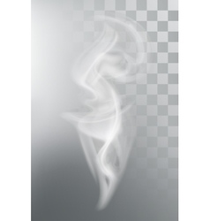 Smoke aroma steam vector