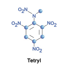 Tetryl explosive compound vector