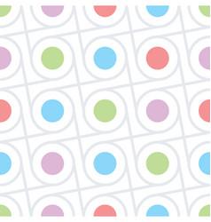 circles and dots seamless texture vector image