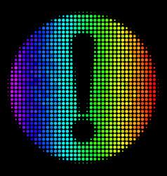 Bright dot problem icon vector