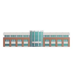 Building university school vector