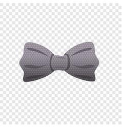 circle bow tie icon cartoon style vector image