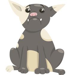 french bulldog dog cartoon vector image