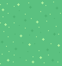 Green 8-bit abstract background vector