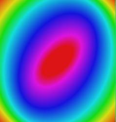 Multicolored gradient elliptical background vector image vector image