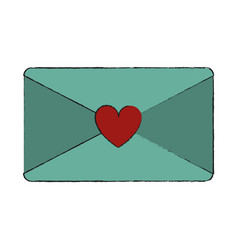 valentines day related icon image vector image
