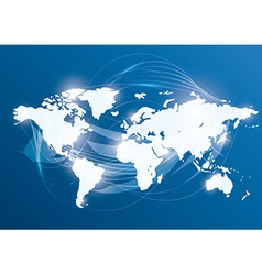 World design vector image