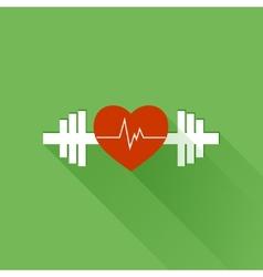 Healthy sports vector image vector image