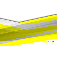 abstract bright background template color yellow vector image
