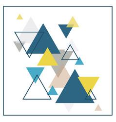 Abstract scandinavian background vector