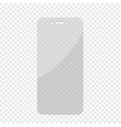 glass screen protector vector image
