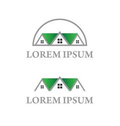 home for construction icon logo modern design vector image