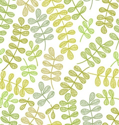 Simplistic floral pattern vector