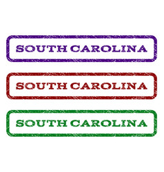 South carolina watermark stamp vector