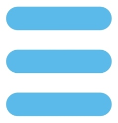 Stack flat blue color icon vector
