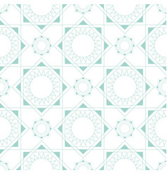 linear seamless geometric pattern blue pastel vector image vector image