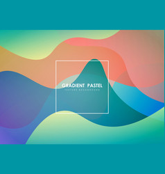 Abstract colorful fluid element artwork pattern vector