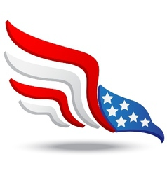 American eagle icon vector