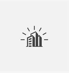 company base icon simple sign vector image