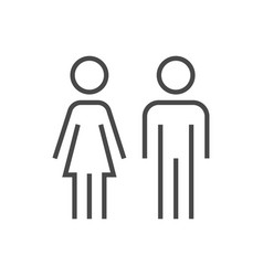 couple signage icon vector image