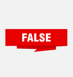 False vector