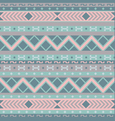 gentle geometrical seamless pattern vector image