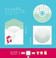 Modern soft color cd vector