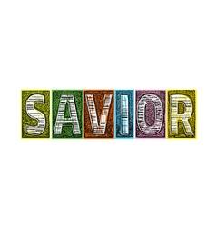 Savior blocks type vector