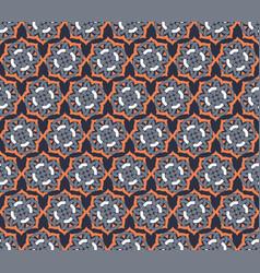 arabic seamless ornament pattern ornamental vector image