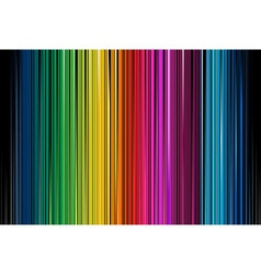 Colorful Black Stripe vector image