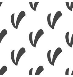 confirm seamless pattern vector image