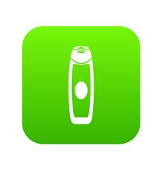 deodorant icon digital green vector image
