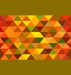 Elegant orange geometry seamless pattern with vector