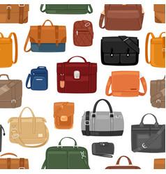 man bag men fashion handbag or business vector image