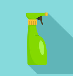 spray bottle icon flat style vector image
